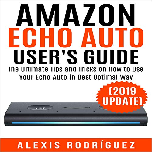 Amazon Echo Auto User's Guide Titelbild
