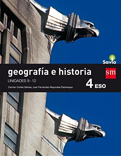 Geografía e historia. 4 ESO. Savia. Trimestres  - Pack de 3 libros -...