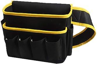 Jianghuayunchuanri Taille Tool Bag 6 Zakken 2 Zakken Slijtvaste Multifunctionele Oxford Doek Tool Opbergtas voor Elektrici...