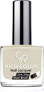 Rich Color Nail Lacquer By Golden Rose, Color Silver No55
