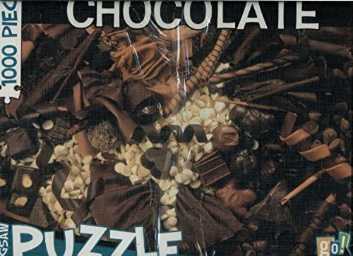 go  1000 Piece Puzzle - Chocolate by Go Games