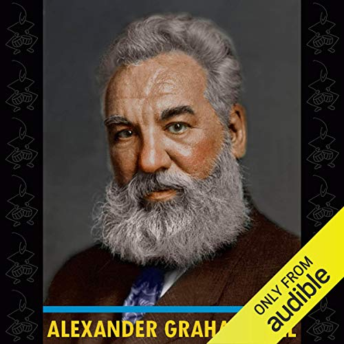 Alexander Graham Bell audiobook cover art