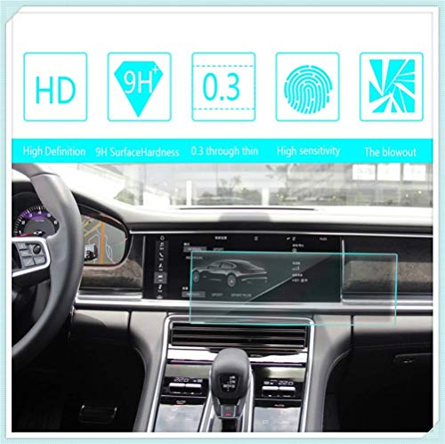 Maiqiken for Porsche Panamera 2017 Navigation Screen Protector Touch Screen Display Film 9H Hardness Anti Glare Anti Scratch GPS Screen Protector Foils