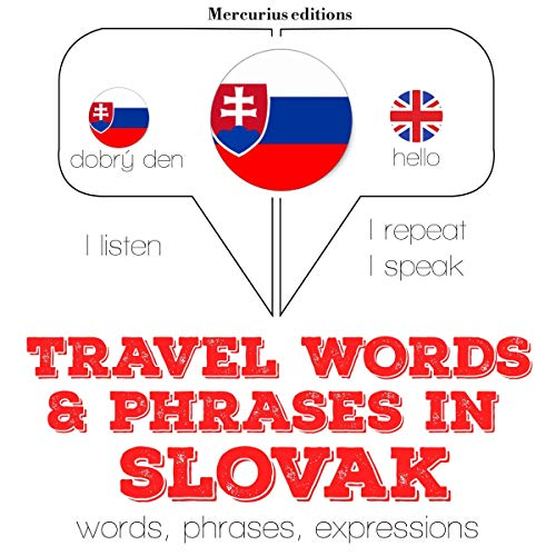 Travel words and phrases in Slovak cover art