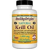 Healthy Origins - Natural Krill Oil 1000 mg. - 60 Softgels