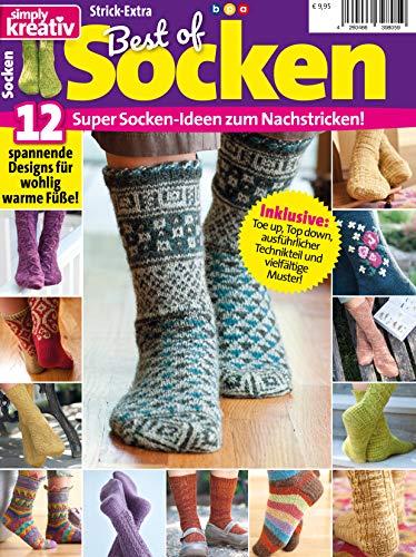 Simply kreativ Best of Socken: Super Socken-Ideen zum Nachstricken
