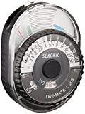 Sekonic L-208 Twin Mate Light Meter (Black/White)
