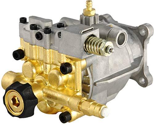 """SurmountWay Pressure Washer Pump 2.5 GPM 3400 PSI Pump 3/4"""" Shaft Replacement Power Washer Pump 6.5 GPM HP Engine Brass Head Replacement Pump(Brass Horizontal )"""