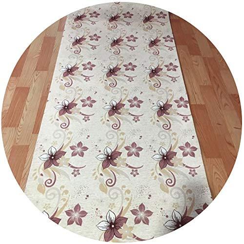 LSK Tappeto Tappeti Runner Tappeto Passatoia Corridoio Carpet Fibra di Poliestere A Fantasia 3D, Adatto for Due Stili di Portico Casa Tappeti Runner (Color : A, Size : 1.2X6M)