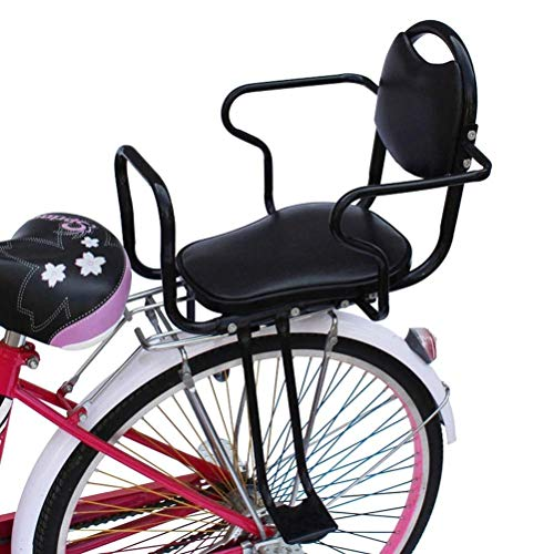 Purchase LXB Bicycle Child Rear seat, Back Child Baby Safety seat with Double armrests