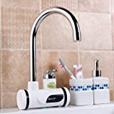 FD Creation Water Heater & Tankless Electric Fast Water Heating Tap Instant Electric Water Heater Faucet Tap