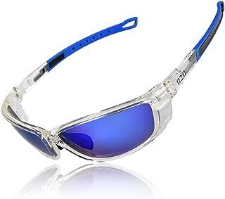 O2O Polarized Sports Sunglasses Tr90 Frame Sports Fashion Sunglasses Comfortable and Fit for Running Golf Driving Baseball Softball Cycling Fishing Beach Boating Men Women Teens