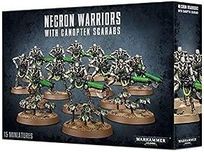 Necron Warriors with Canoptek Scarabs Warhammer 40,000