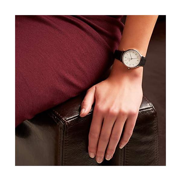 Mondaine Helvetica Regular- Reloj de Cuero Negro para Hombre y Mujer, MH1.R1210.LB,