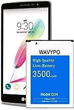 Wavypo LG G4 Battery, 3500mAh (Upgraded) G4 BL-51YF Replacement Battery for LG G4 H810 H811 H812 H815 US991 LS991 VS986, G4 G Stylo H631 LS770 Spare Battery [24 Month Warranty]