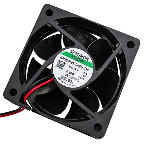 Fan 12V DC 0,78W 60x60x20mm 32,3m³/h 4200U/Min 32,3m³/h Sunon MF60201V21000UA99