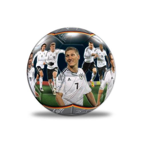 Xtrem Toys & Sports 60022 - DFB Foto-Ball Deutsche Mannschaft 2012 unaufgeblasen