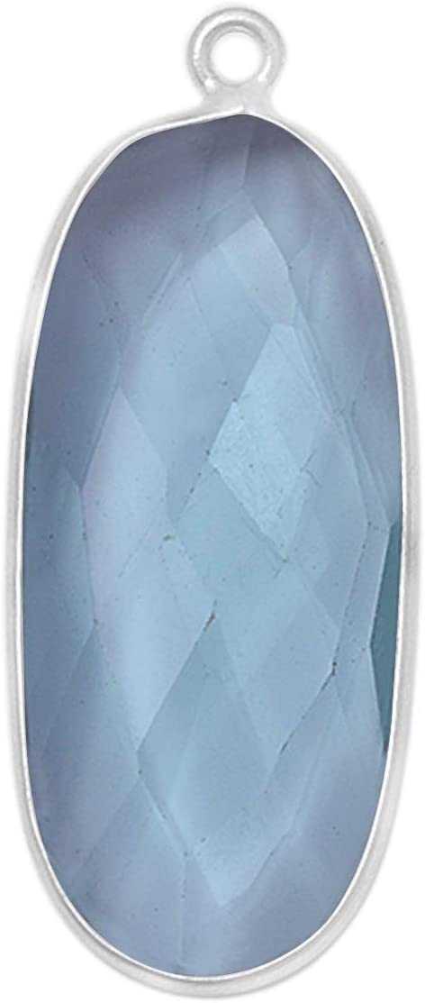 2 Pcs London Blue Topaz Oval Special price Silver Sterling Handmad 13X30MM 925 Indianapolis Mall