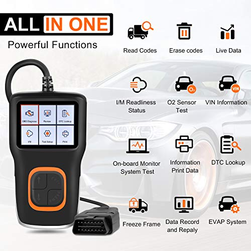 Buy Bargain Manfiter OBD2 Scanner Code Reader OBDII OBDii Car Diagnostic Scan Tool OBD2 Code Fault R...