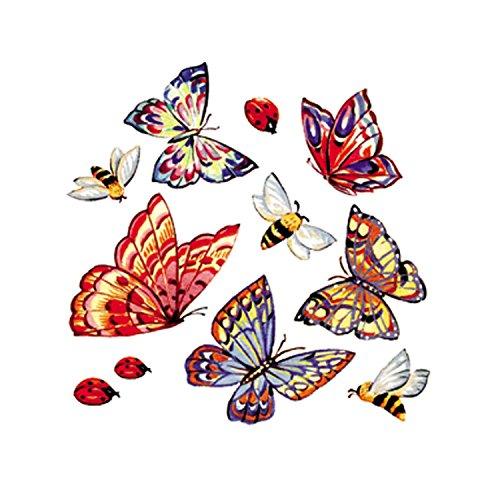Smile P1768 Beautiful Tiles Decora tegels, vlinders en lieveheersbeestjes, meerkleurig