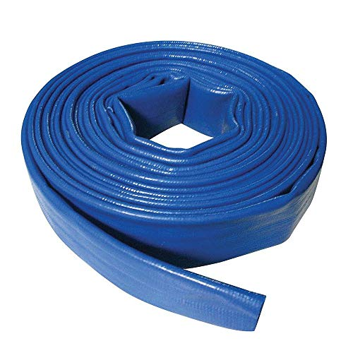 Silverline 633827 - Manguera plana para descarga de agua (10 m x 25 mm)