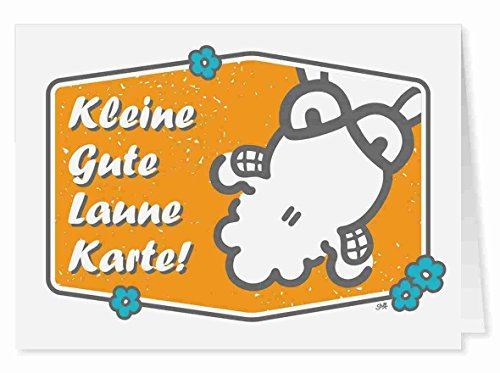 42 - Kleine Gute Laune Karte - Midi-Grußkarte von Sheepworld