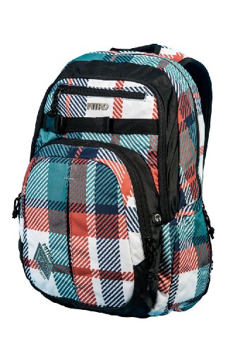 Nitro Snowboards Rucksack Chase, Meltwater Plaid, 51 x 37 x 23 cm