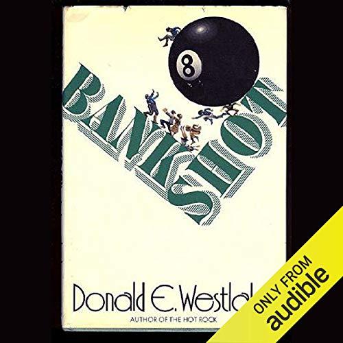 Bank Shot audiobook cover art