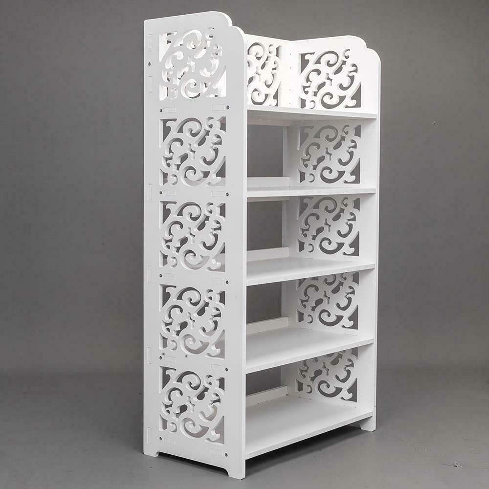 5 Tier Heavy Duty Complete Free Shipping Storage Rack Bookcase Organizer specialty shop Standing Shoe