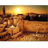Agxdsq Puzzle 1000 Piezas Muro de Las Lamentaciones de Jerusalén Israel Rompecabezas de cartón para niños, Juegos educativos, Rompecabezas de desafío Mental50x75cm(20x30pulgada)
