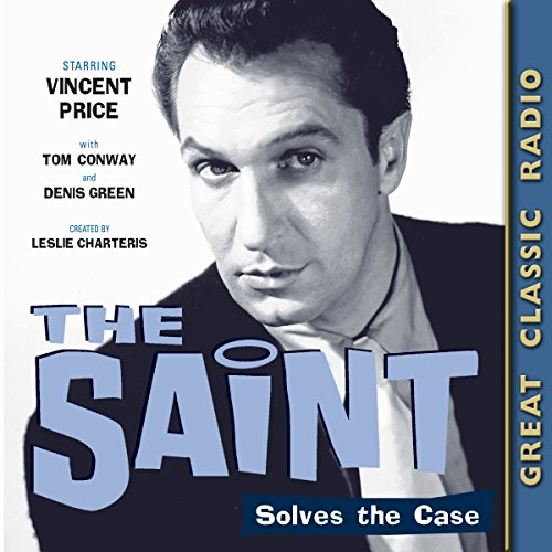 The Saint Solves the Case audiobook cover art