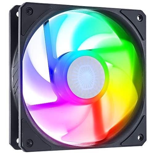 Cooler Master SickleFlow 120 ARGB Reverse Edition, ventilador de 120 mm con marco cuadrado y LED personalizables