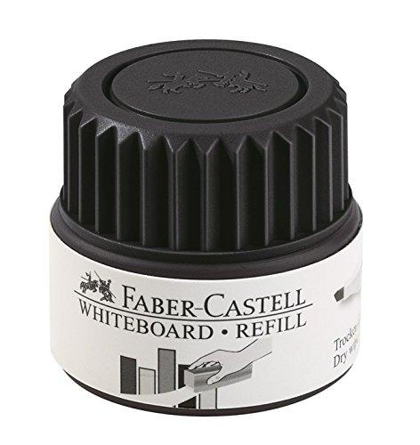 Faber-Castell 1584 99 - Refill für GRIP Whiteboard Marker,  schwarz