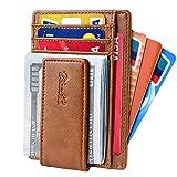 Zitahli Front Pocket Wallet For Men, Slim Money Clip Wallet With Strong Magnetic Closure, RFID Blocking