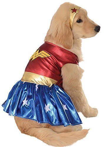 - Wonder Woman Kostüm Hund