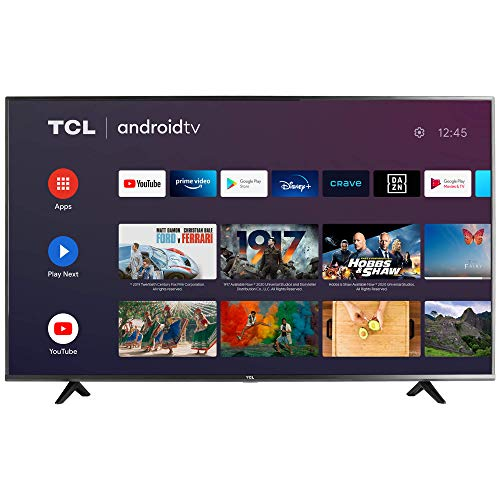TCL 50' Class 4-Series 4K UHD HDR Smart Android TV - 50S434-CA