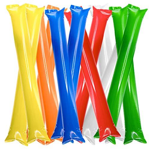 FUN FAN LINE - Pack 30 Pares de Aplaudidores hinchables de plástico....