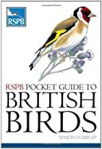 RSPB Pocket Guide to British Birds by Simon Harrap (2007-10-24)