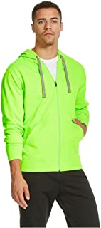 C9 Champion Men's Tech Fleece Full Zip Hoodie Forging Green (Large, Forging Green)
