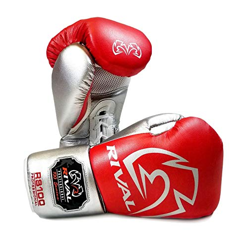 RIVAL Boxing Gloves - RS100 Professional Sparring Gloves - Choice of...