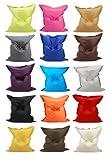 Kinzler S-10026/27 XXL Riesensitzsack, 140x180 cm, Sitzsack Outdoor Indoor, in vielen verschiedenen Farben, mit Innensack, apfel grün - 3