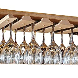 Under Cabinet Wine Glass Rack – SMITCO Store