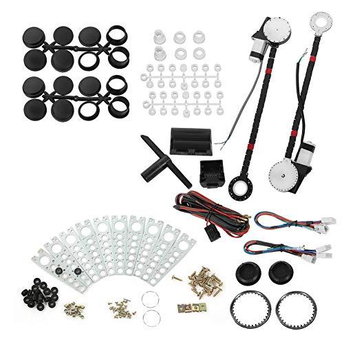 Kit de elevalunas eléctrico - Kit de conversión de regulador de elevalunas...