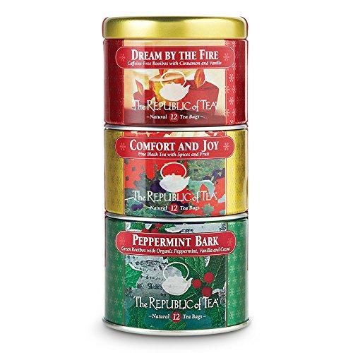 REPUBLIC OF TEA Organic Holiday Stackable Tea, 36 CT
