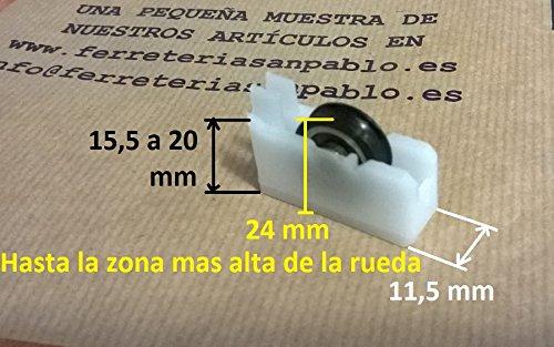 1 Rueda o rodamiento para ventana P4