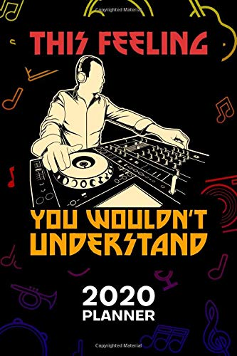 2020 PLANNER Weekly and Monthly: Music Lover Organizer - Jan-Dec 160 Pages A5 6x9 - Deejay Diary Disco Music Journal Notebook Festival Outfit Calendar - DJ Gift for Men & Women