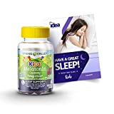 "Spring Valley Vegetarian Melatonin Gummies for Kids, Sleep Support, 60 Ct (1 Pack) + ""Have a Great Sleep - Better Idea Guide"""