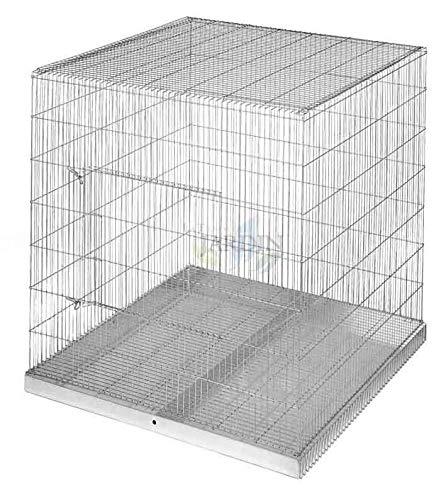 Suinga vogelkooi voor het tentoonstellen van papegaaien, afmetingen 98 x 95 x 101 cm