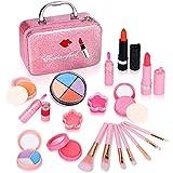 ARANEE Maquillaje Niñas Set Maletin Juguete Niña 21 PCS (Rosa)