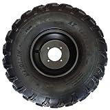 X-PRO 19x7-8 8'Left Front Wheel Rim Tire Assembly for 125cc-200cc ATVs 19-7-8